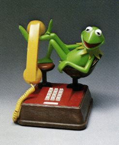 Kermit the Frog telephone