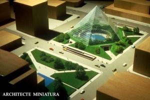 SOM city park scale model