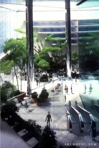 SOM Park Avenue interior model