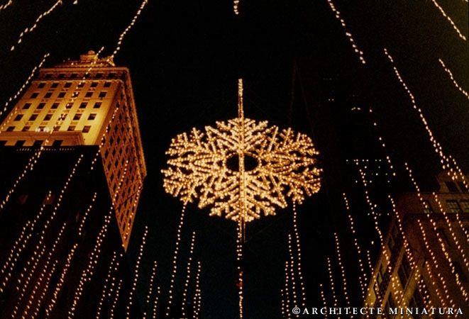 Douglas Leigh snowflake NYC