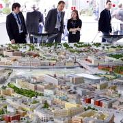 City Model exhibit display