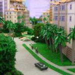 Resort Street Scene