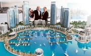 City Model aqua plan Dubai