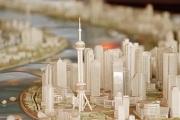 City Model downtown detail