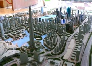 City Model downtown Dubai