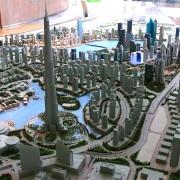 City Model downtown Dubai