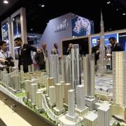 City Model Dubai city blocks