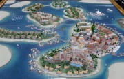 City Model Dubai islands
