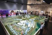 City Model Dubai large plan