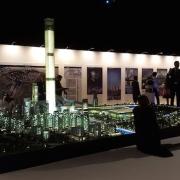 City Model Dubai lit towers