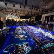 City Model Dubai lit