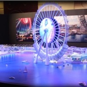 City Model Dubai on the water