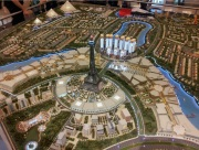 City Model Dubai plan view