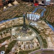 City Model Dubai plan view