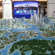 City Model Dubai water