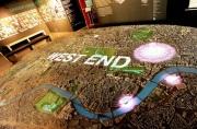 City Model London lit graphics