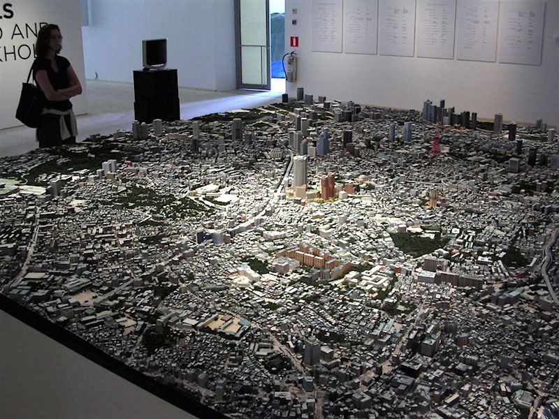 Pictures Of Toy Models Of Cities : City model tokyo we build the world s best scale models