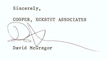 Cooper Eckstut signature