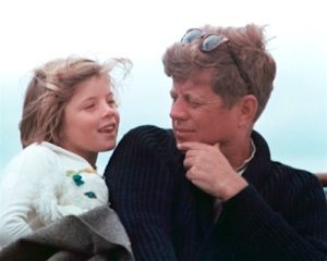 Kennedy and Caroline