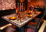 Chocolate Dining Table