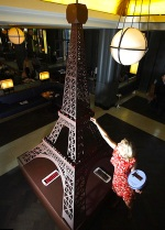 Chocolate Eifflel Tower