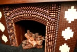 Chocolate Fireplace