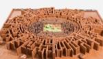 Chocolate Mayan Maze