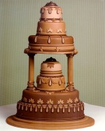 Chocolate Pedestal
