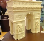 White Chocolate Paris Arch