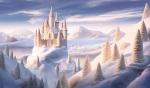 White Chocolate Snow Fantasy