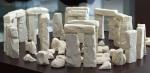 White Chocolate Stonehenge